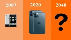 بالصور..كيف سيبدو شكل هواتف آيفون في عام 2040؟