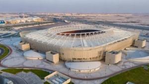 7 نقوش تاريخية.. ملعب الريان المونديالي تحفة معمارية تجسّد ماضي قطر وحاضرها
