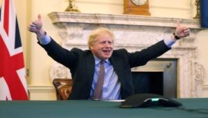 """بعد مفاوضات """"طويلة وعسيرة"""".. بريطانيا والاتحاد الأوروبي يتوصلان لاتفاق تجاري لمرحلة ما بعد البريكست"""