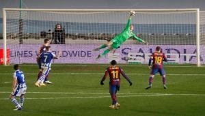 في غياب ميسي.. تير شتيغن يمنح برشلونة بطاقة العبور إلى نهائي كأس السوبر الإسباني