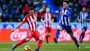 بشق الأنفس.. أتلتيكو مدريد يهزم ألافيس ويقبض على صدارة الليغا