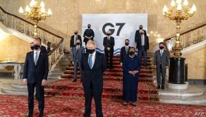 مجموعة السبع تختتم اجتماعها بانتقاد الصين وروسيا وإيران