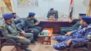 وزير الداخلية يشدد على تنفيذ الخطة الأمنية لعيد الفطر في وادي وصحراء حضرموت