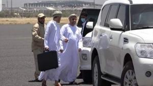 الوفد العماني يغادر صنعاء بعد أسبوع من المشاورات مع الحوثيين