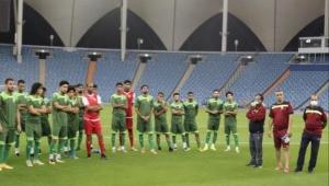 المنتخب الوطني يواجه فلسطين بغياب قراوي وبقشان