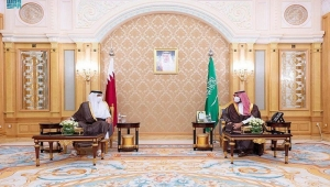 بن سلمان يستقبل أمير قطر في الرياض لبحث تعزيز التعاون بين بلديهما