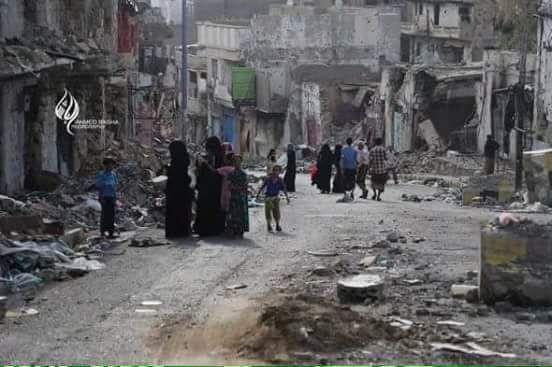 طيران التحالف يجدد قصف مواقع الميليشيات بمدينة تعز
