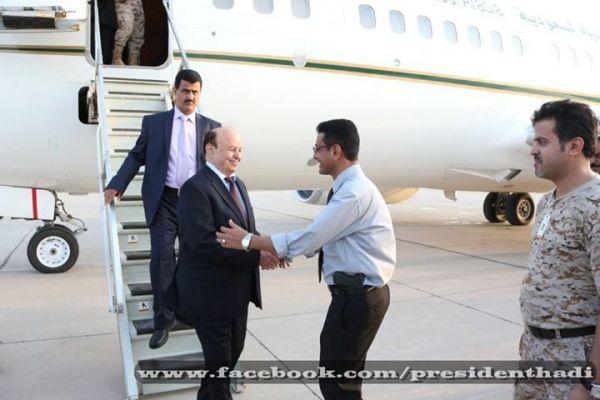 هادي من عدن: العودة إلى العاصمة صنعاء ستكون قريبا