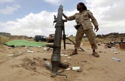 مليشيا الحوثي تطلق صاروخين من نوع توشكا على مدينة مأرب ولا أضرار