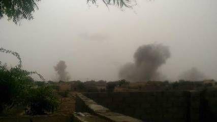 حجة: طيران التحالف يدمر تعزيزات وآليات للحوثيين وسقوط عشرات القتلى والجرحى من المليشيا