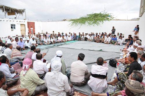 حلف حضرموت يناشد التحالف ضبط الأمن ويهدد بالتصعيد