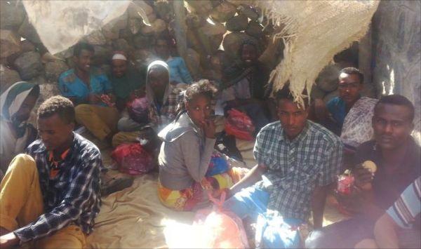 2241 مهاجرا أفريقيا ساعدتهم الأمم المتحدة على الخروج من اليمن في 2017