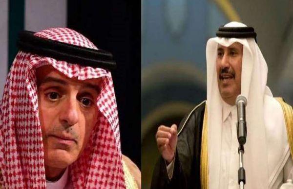 حمد بن جاسم ساخراً من تصريحات الجبير: أجزم أنها ليست من بنات أفكاره!