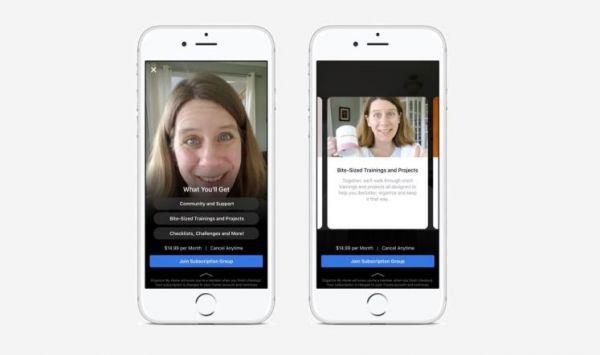 فيسبوك تختبر الاشتراك المدفوع في المجموعات