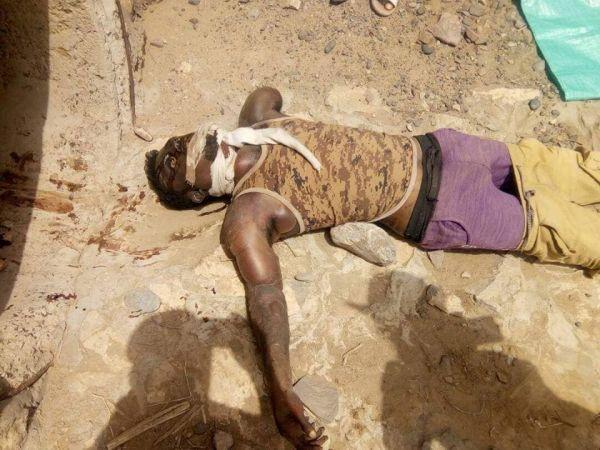 لحج.. العثور على جثة شخص عليه آثار تعذيب بالملاح