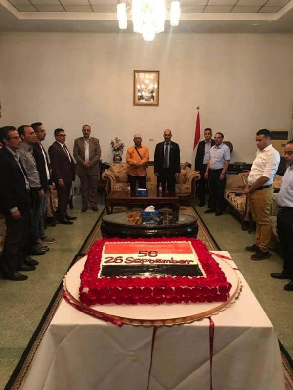 السفارة اليمنية في بكين تقيم حفلا فنيا بحضور أيوب طارش بمناسبة أعياد الثورة