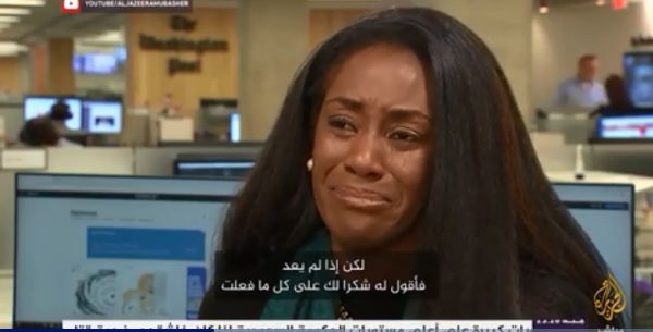 دموع كارين.. رسالة إلى الغائب خاشقجي