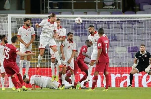 قطر تهزم لبنان بثنائية في كأس آسيا