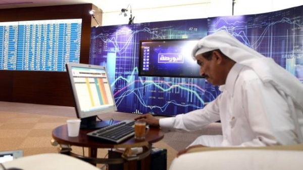 بورصة قطر بأعلى مستوياتها في عامين