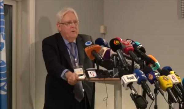 جريفيث: اتفاق تبادل الأسرى في اليمن يدعم عملية السلام
