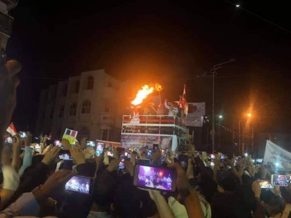 """تعز توقد شعلة """"ثورة فبراير"""" في ذكراها الثامنة"""
