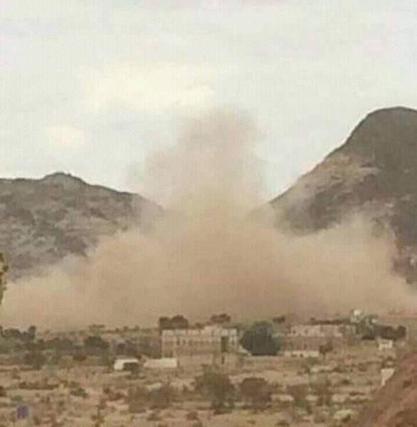 الضالع.. الحوثيون يفجرون منزل رئيس جهاز الأمن السياسي عبده الحذيفي في الحشاء