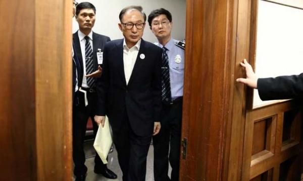 الإفراج عن الرئيس الكوري الجنوبي السابق لي ميونغ باك بكفالة