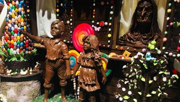 معالم إسطنبول مصنوعة بالشوكولاتة.. متحف يعشقه الجميع