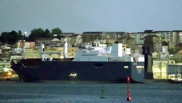 سفينة سعودية تعود من فرنسا بعد منعها من تحميل أسلحة