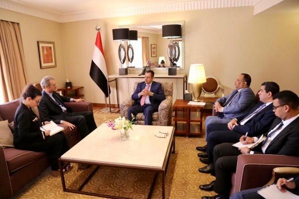 رئيس الوزراء: الحوثيون أفشلوا مشاورات عمان الاقتصادية