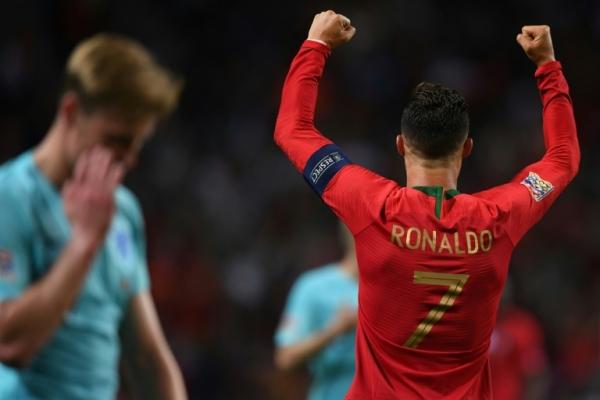 البرتغال تتوج باللقب في دوري الأمم الأوربية بعد فوزها على هولندا