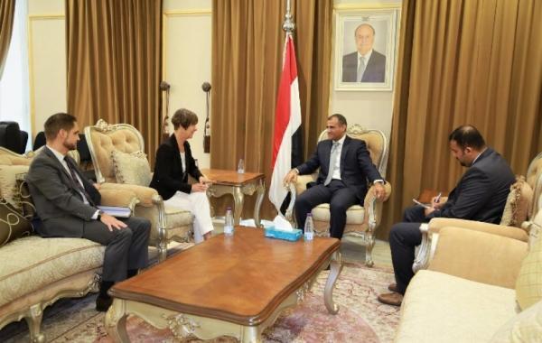 ألمانيا تؤكد دعمها للحكومة الشرعية في اليمن