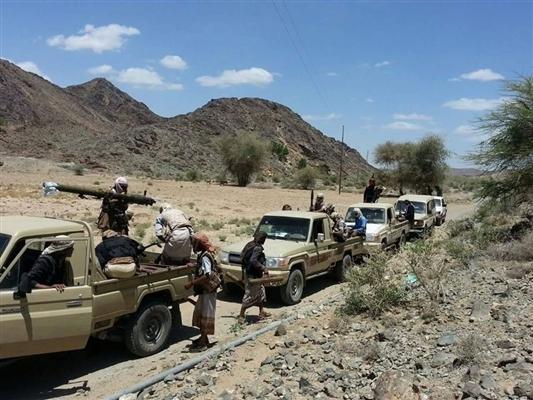 قتلى وجرحى في مواجهات  مع الجيش الوطني بمحافظة البيضاء