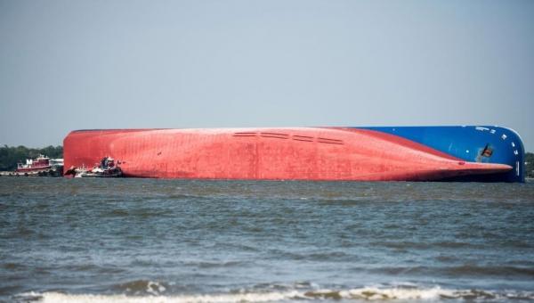سفينة كورية تغرق.. أربعة آلاف سيارة جديدة في قاع السواحل الأميركية
