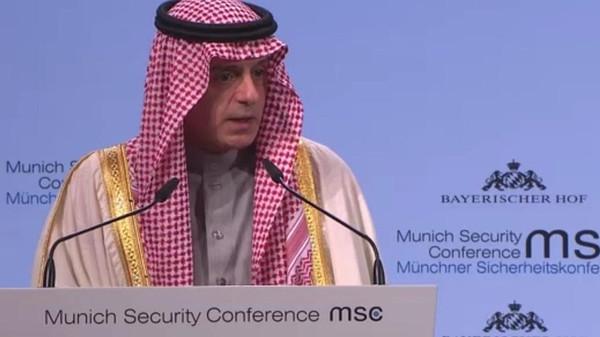 الجبير: استهدفت السعودية بأكثر من 260 صاروخاً باليستياً إيراني الصنع وأكثر من 150 طائرة مسيّرة