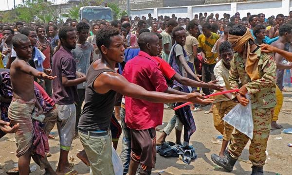 الهجرة الدولية تجلي 3 ألف مهاجر اثيوبي إلى بلدهم