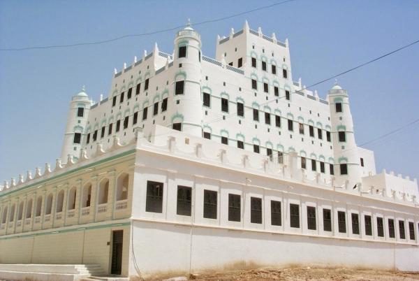 الانتهاء قريبا من صيانة وترميم قصر السلطان الكثيري بسيئون