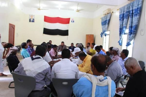 تنفيذي سقطرى يعقد اجتماعا استثنائياً لمناقشة أوضاع المحافظة