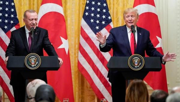 غولن والصواريخ وإبادة الأرمن.. محاور تناولها ترامب وأردوغان في مؤتمر صحفي