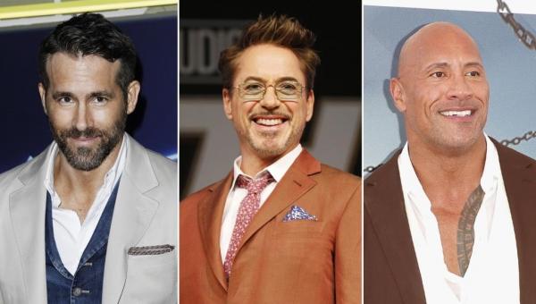 من الأعلى أجرا بين نجوم السينما هذا العام؟