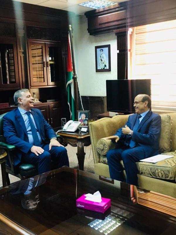 الأردن يؤكد استعداده لدعم اليمن في المجالات الطبية