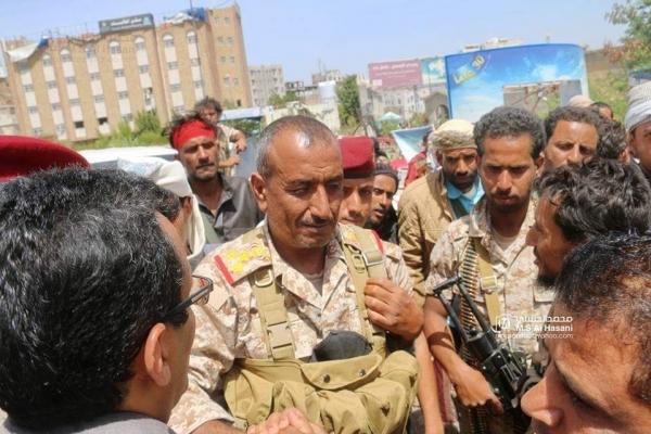 قيادة محور تعز: استهداف العميد الحمادي استهداف للجيش الوطني