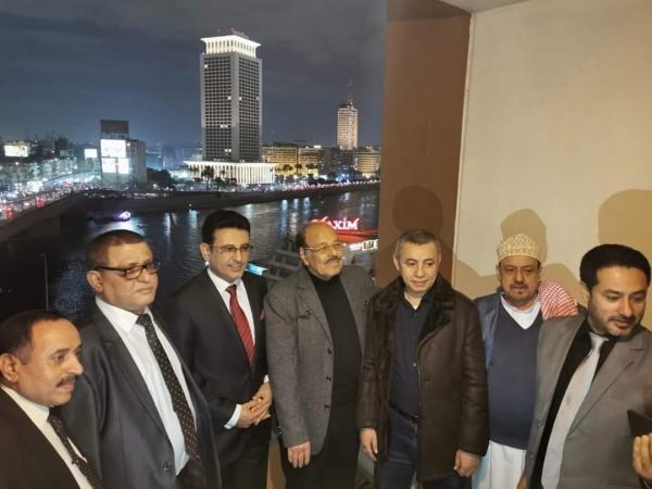 الأحمر: نثمن جهود الرئيس السيسي ومصر في مساندة اليمن