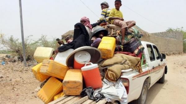الأمم المتحدة: نزوح 400 ألف يمني منذ مطلع العام الجاري