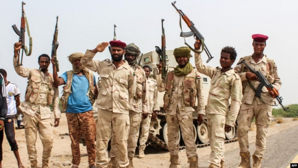السودان يعلن تقليص قواته في اليمن إلى 675 جنديا