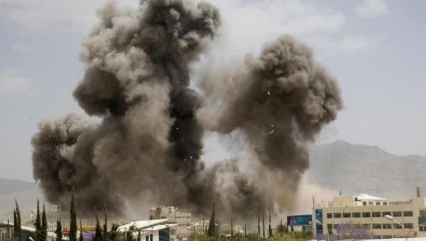 جماعة الحوثي تتهم التحالف بشن 15 غارة على أربع محافظات