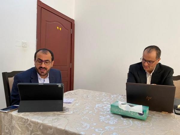جماعة الحوثي تبحث مع طهران الجهود الأممية للسلام في اليمن