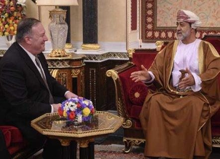 """مباحثات """"عمانية - أمريكية"""" حول تطورات الأوضاع بالمنطقة"""