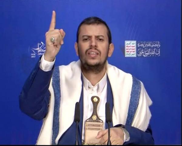 """""""زعيم الحوثيين"""" يعلن استعداده الدائم لكل الخيارات في مواجهة إسرائيل"""