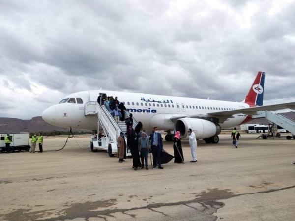 وصول 147 مسافراً ضمن رحلة سادسة للعالقين في الهند